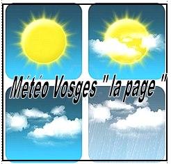 Météo Vosges la Page